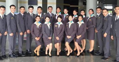 ส่ง 21 นักศึกษาการบินฝึกงาน 'เจ้าจำปี' มรส.เดินหน้าผลิตบุคลากรการบินคุณภาพ