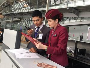 นักศึกษาสาขาธุรกิจการบินฝึกประสบการณ์วิชาชีพ ทั้งสายการบินในและต่างประเทศ